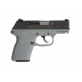 "Kel-Tec PF9 9mm 3.1"" Grey Frame, Parkerized Slide"