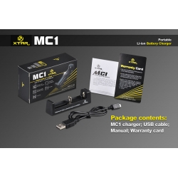 XTAR MC1 18650 Rechargeable Battery Charger