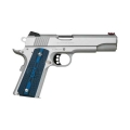 Colt 1911 Competition 9mm SS G10 Blue Grips Fiber Optic Front Sight