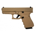 Glock 19 Gen 4 Sand Cerakote, USA Made