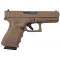 Glock 19 Gen 4 FDE Cerakote, USA Made