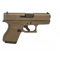 Glock 43 9mm Burnt Bronze