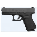 Glock 19 Gen 4 9mm With Front Slide Serrations
