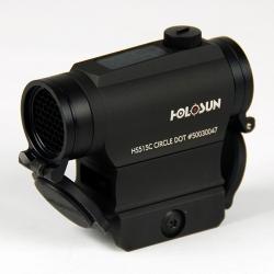 Holosun HS515C Circle Dot Solar Powered
