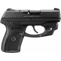 Ruger LC9 Pistol 9mm 3.12in 7rd Black LaserMax