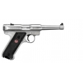 "Ruger MKIII 4.75"" 22LR Stainless"