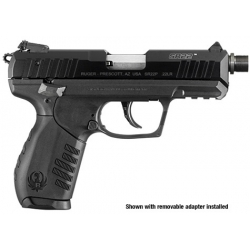 Ruger SR22 Black 22LR Threaded Barrel