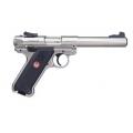 """Ruger  MK IV Target 5.5"""" 22LR Stainless"""