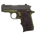 Sig Sauer P238 380ACP Army Green Anodized