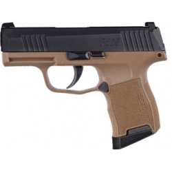 Sig Sauer P365 Pistol 9mm Coyote Tan with Holster
