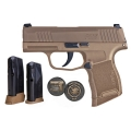 Sig Sauer P365 9mm Coyote Tan NRA Edition X-Ray