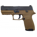 P320 Compact 9mm Two-Tone FDE