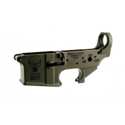 Spike's Tactical Stripped Lower Punisher No Color