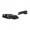 TruGlo TFO, Fits Glock 42, 43 Yellow Rear, Green Front