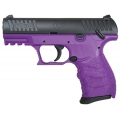 Walther 9mm CCP Royal Purple Frame